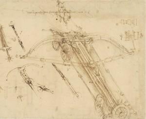 Dettaglio Codice atlantico f. 147 v-a