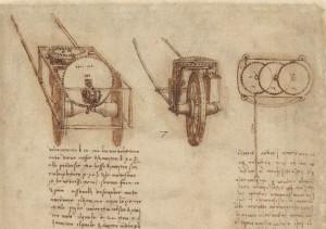 Dettaglio Codice atlantico f. 1r-b