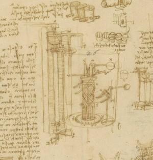 Dettaglio Codice atlantico, f. 943r